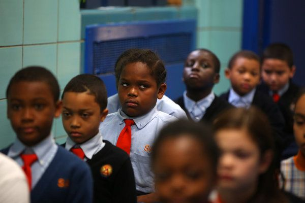 "Read about this ""great"" charter school that gets high test scores! P.S. Look at the faces of the students..."