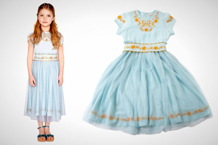 This Aurora dress is almost too pretty for play.