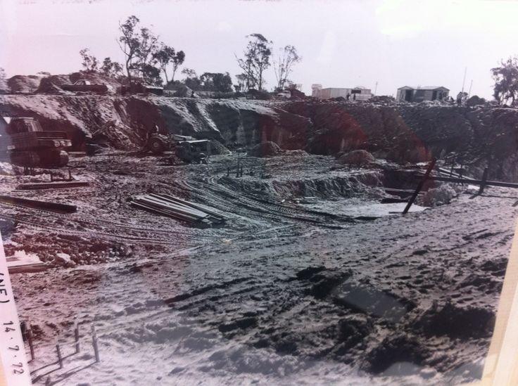 #karrinyups40thbirthday Karrinyup Centre pre construction