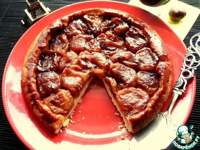 Французский пирог-перевёртыш с яблоками ингредиенты