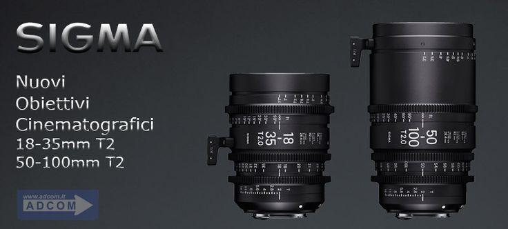 10 febbraio dalle ore 10 alle 13 e dalle 15 alle 18 - Adcom in collaborazione con Sigma è lieta di invitarvi alla presentazione dei nuovi obiettivi cinematografici 18-35mm T2 e 50-100 T2. Iscriviti: http://www.adcom.it/it/eventi/sigma-cine-lenses-super35-18-35mm-t2-e-50-100mm-t2/x_6_167