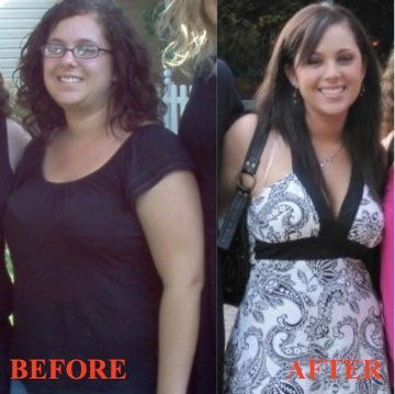 This is my before and after picture from a strict no-carb diet in 2009.  In four months I went from 163 lbs on the left to 118 lbs on the right.  I kept it off for over two years but in the last year have gained around 10 lbs... I need this pic to remind me of what I don't want to go back to!
