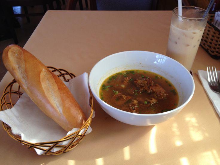 Breakfast in Nhat Ha hotel Hochimh