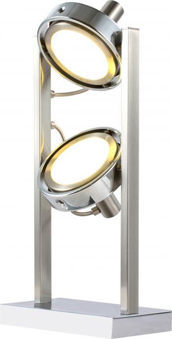 lampa de birou cu 2 abajururi orientabile BARONI 56946-2T marca Globo