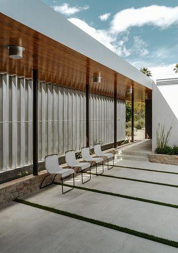 Richard Neutra. Kaufmann House1946. Palm Springs, California.