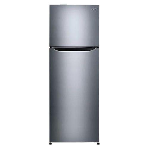 LG   Large Capacity 24u201d Wide Compact Top Mount Refrigerator   Platinum