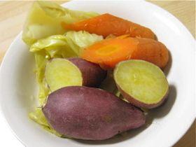 食べ過ぎ注意☆炊飯器で蒸し野菜