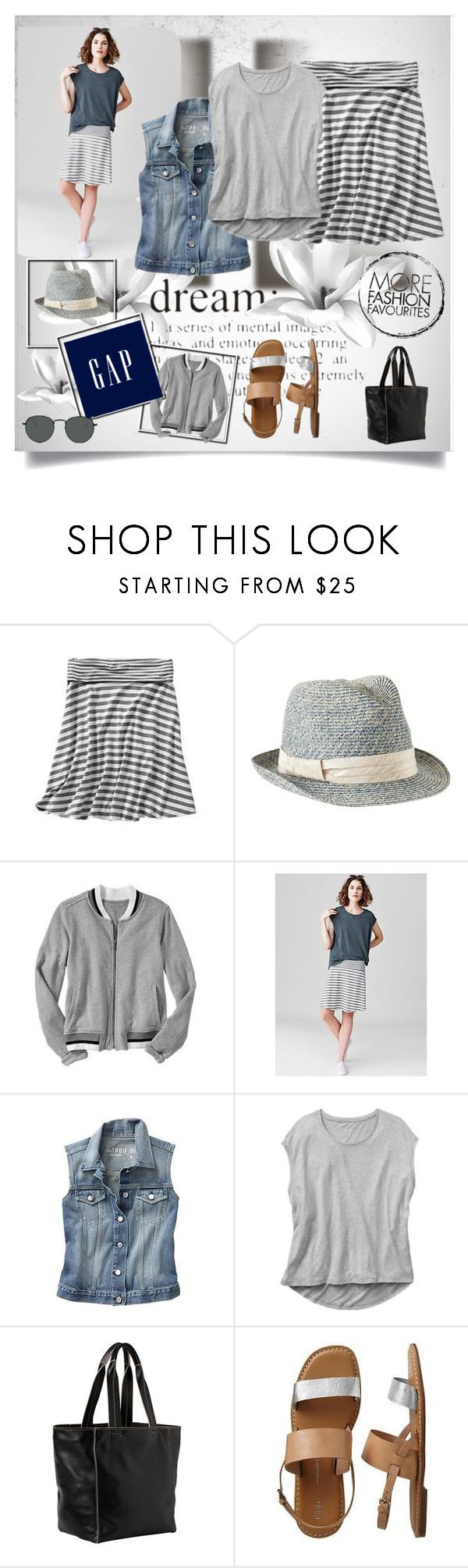 """Summer Lovin,' Gap Style"" by kay79 ❤ liked on Polyvore featuring Gap and summerloves"