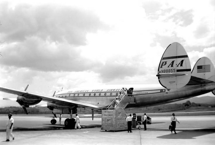 Lockheed 049-51-26 Constellation (N88855 c/n 049-2055) Pan ...