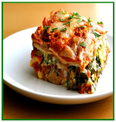 Low FODMAP  Gluten free - Roasted vegetable lasagne   http://www.ibssanoplus.com/low_fodmap_gluten_free_vegetable_lasagne.html