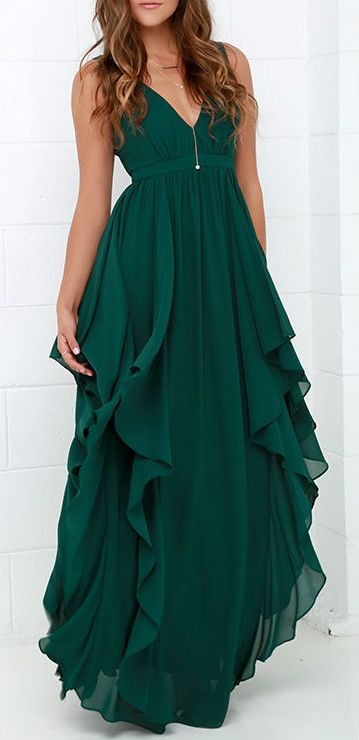 UP TO 90% OFF, FREE SHIPPING WORLDWIDE, LOWEST PRICES EVER. Chic Deep V Flouncing Chiffon Party Dress