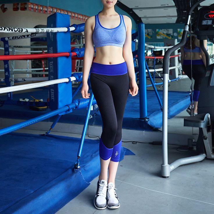 Women Leggings Workout High Waist Elastic