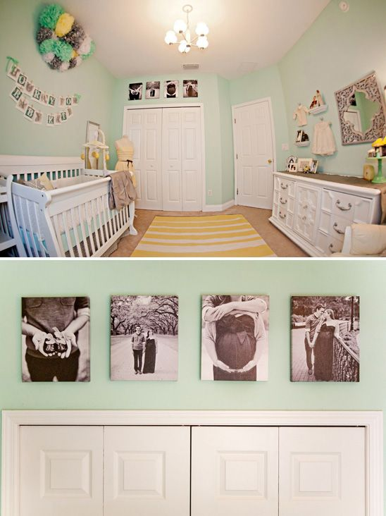 Black And White Photos Above The Closet Love This Great