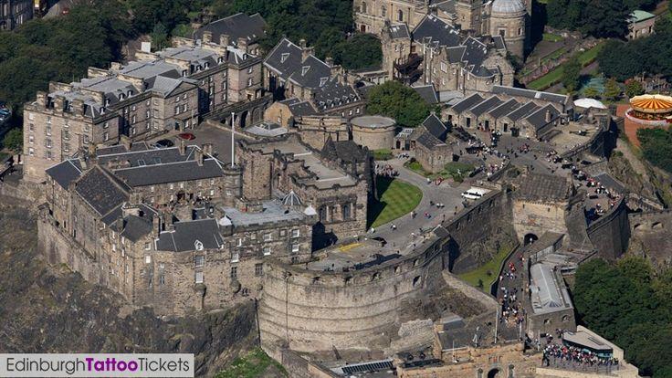 Edinburgh castle the royal edinburgh military tattoo