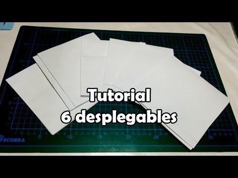 Cómo hacer un bolsillo de biblioteca. Tutorial - YouTube
