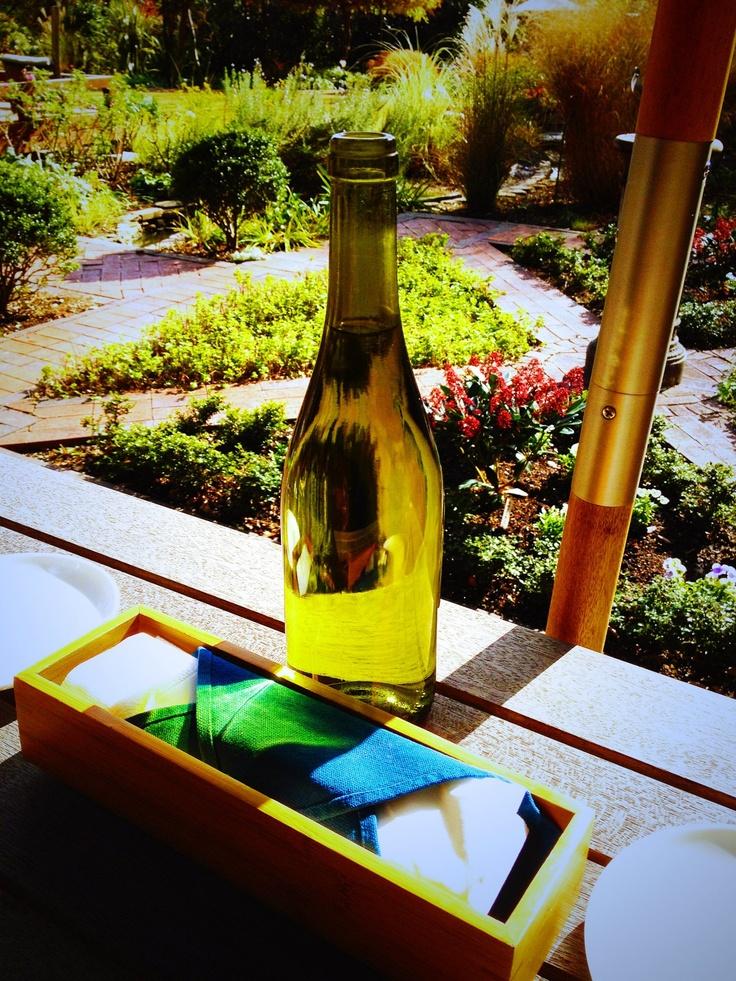 石窯ガーデンテラス@浄妙寺──庭を眺めながらのランチは優雅だ。。。