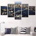 Manhattan Canvas Art, Brooklyn Canvas Art, Manhattan and Brooklyn Bridge Large Canvas Print, Manhattan Wall Art, Brooklyn Wall Art