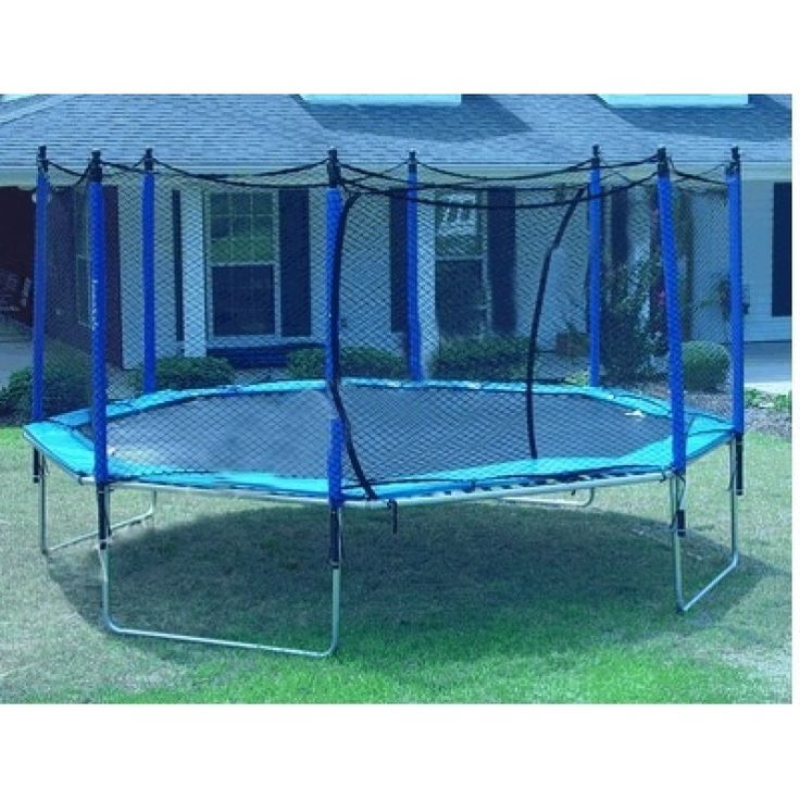 how to find trampoline size