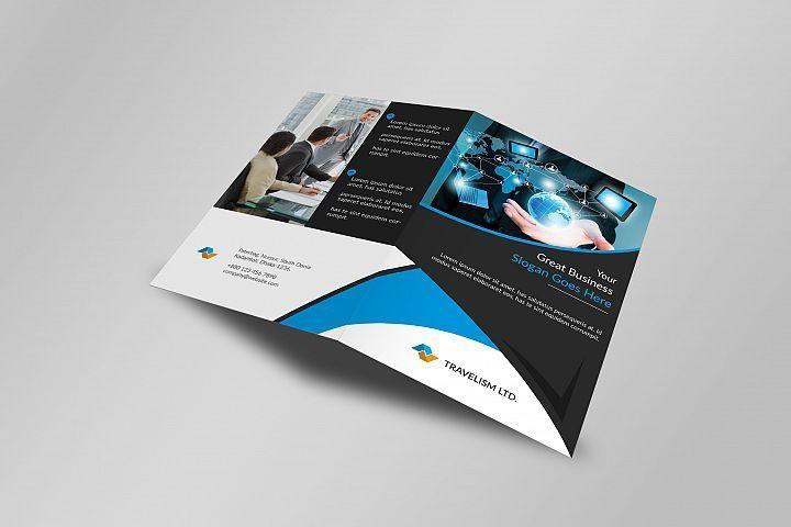 Corporate Bi Fold Business Brochure 419862 Brochures Design Bundles Business Brochure Bi Fold Brochure Brochure Template
