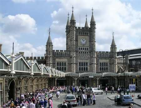 Temple Meads station, Bristol, UK