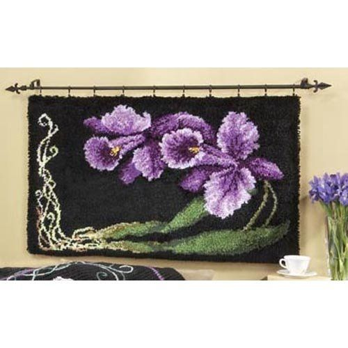 Wall Hanging Kit 7 best latch hook rugs images on pinterest | hooks, latch hook