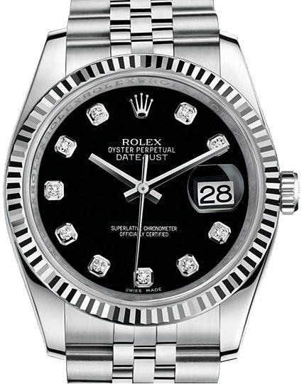 Rolex 116234 bkdj Datejust Steel. #rolex