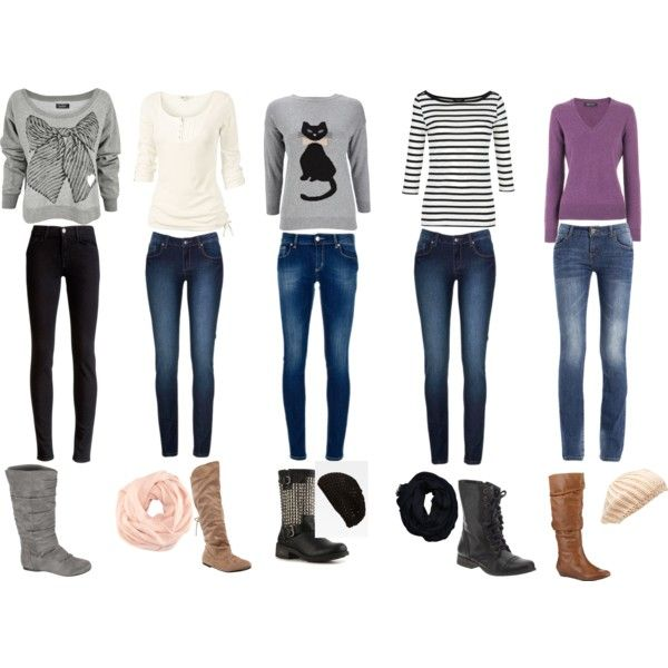 cute \u0026 casual winter outfits for every school day of the week!
