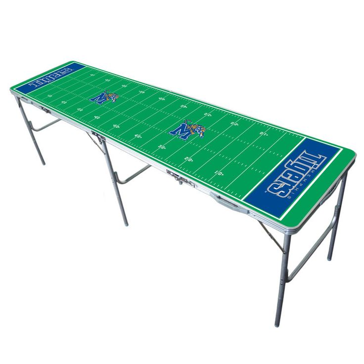Memphis Tigers 2'' x 8'' Tailgate Table