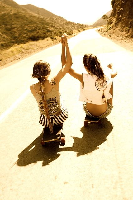 @Anna Totten Gibbs. idk why, but it reminded me of us (: just throw on some cowgirl boots.
