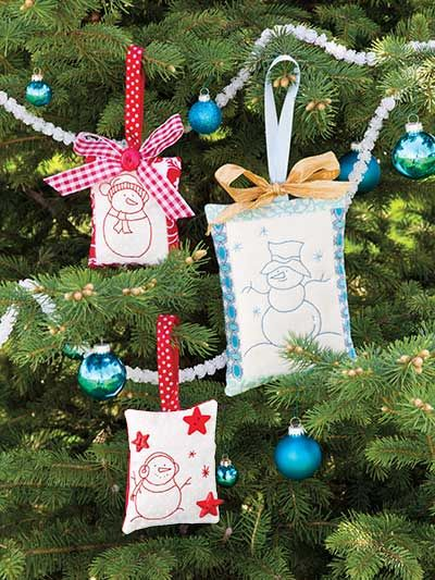 Quilting - Quilty Christmas Ornaments - #EQ00681
