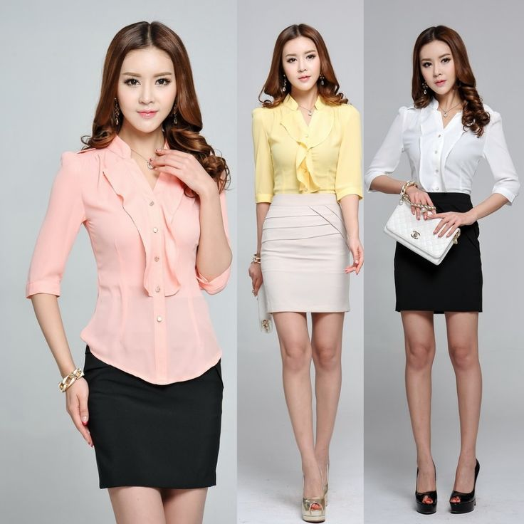 Cheap uniform bra, Buy Quality blouse tie directly from China blouses summer Suppliers: New Style, Hot Sale! Fashion Women Blouse (Skirt is not included) Formal Ladies Office Uniform Styles