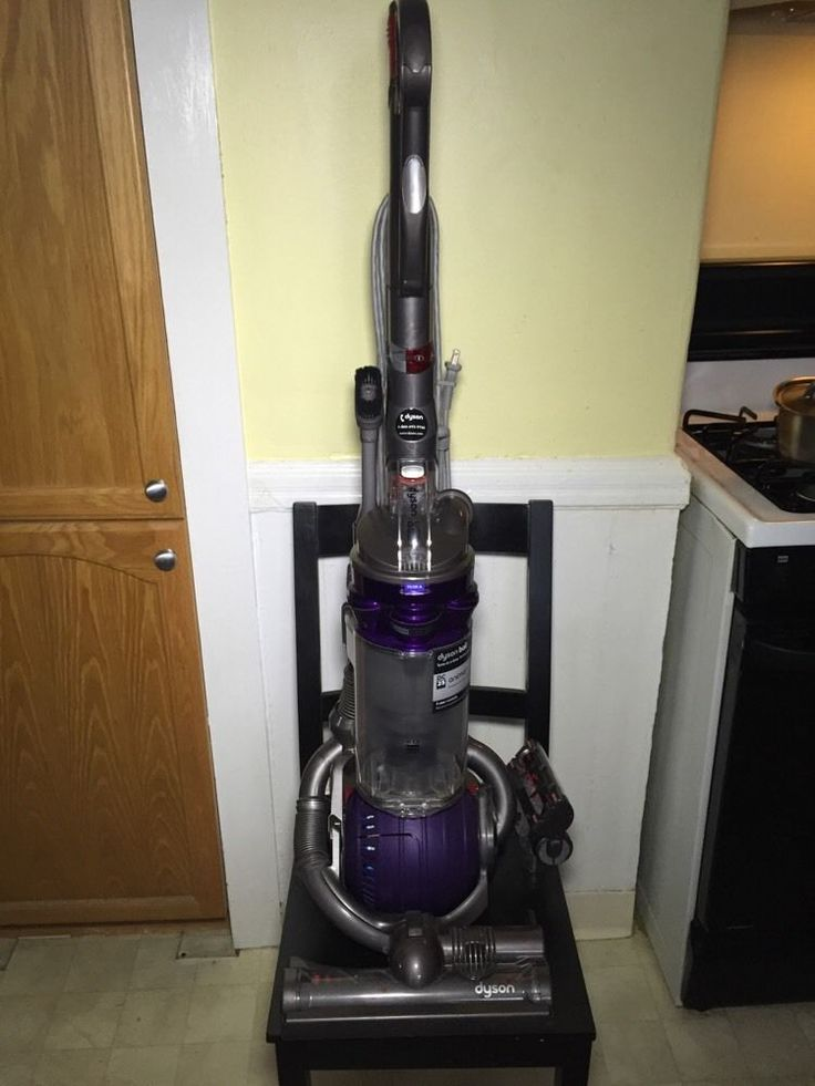 Dyson Dc25 Animal Gray Purple Upright Cleaner