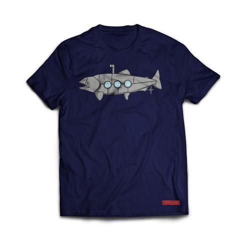 Nautilus...  We all know you're on the hunt your next monster on the water, and we want you to feel like Captain Nemo in your Nautilus shirt.