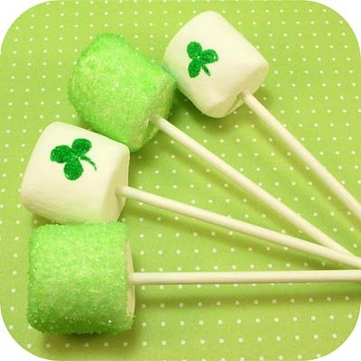 St. Patrick's Day marshmallows