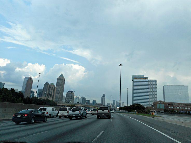 Driving in Atlanta,Georgia