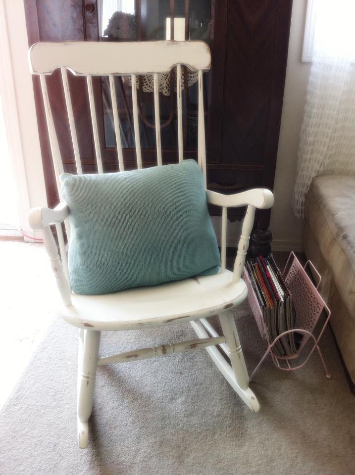 17+ best images about Rocking chair redo on Pinterest  Rocking chairs ...
