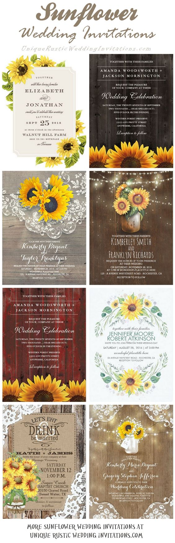 220 Best Rustic Wedding Invitations Images On Pinterest