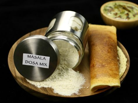 masala dosa mix, instant ready mix masala dosa recipe with step by step pics and video
