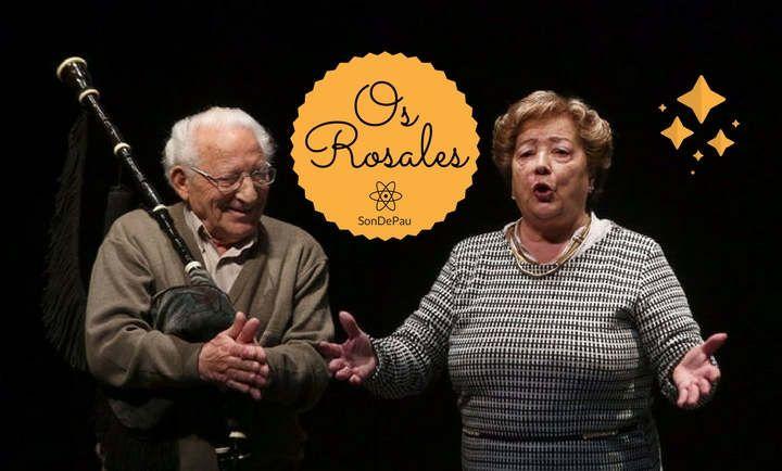 Familia, música e tradición co grupo Os Rosales