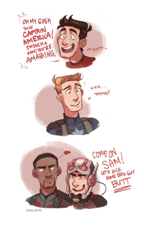 Some higher-quality cutie pies, as requested! Haha glad you guys like it, I'll have to draw Scott (AND SAM) more often :)Again, inspired by that D23 trailer which sounds amaaaaazing, I wish I could've been there to watch it TT____TT