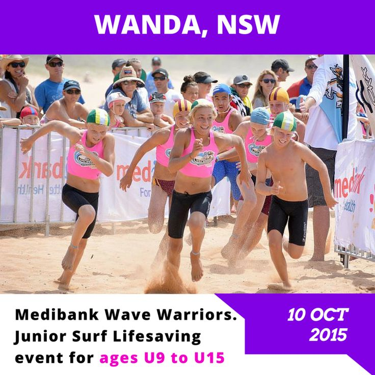 Who is coming to Wanda, NSW on Saturday 10th October?  Head on over to our website for all the details: http://bit.ly/wanda2015  All Medibank members will receive a 15% discount on checkout.  #medibankwavewarriors #medibank #wavewarriors #wanda #juniorslsc #GenBetter