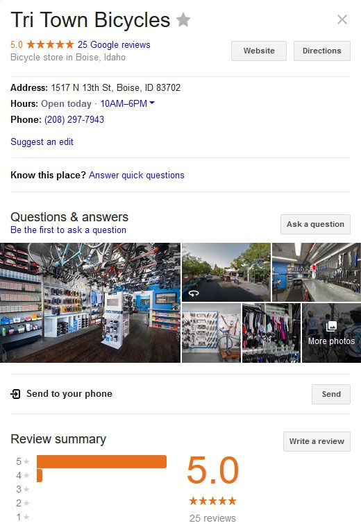 Consumers Leave Business Reviews