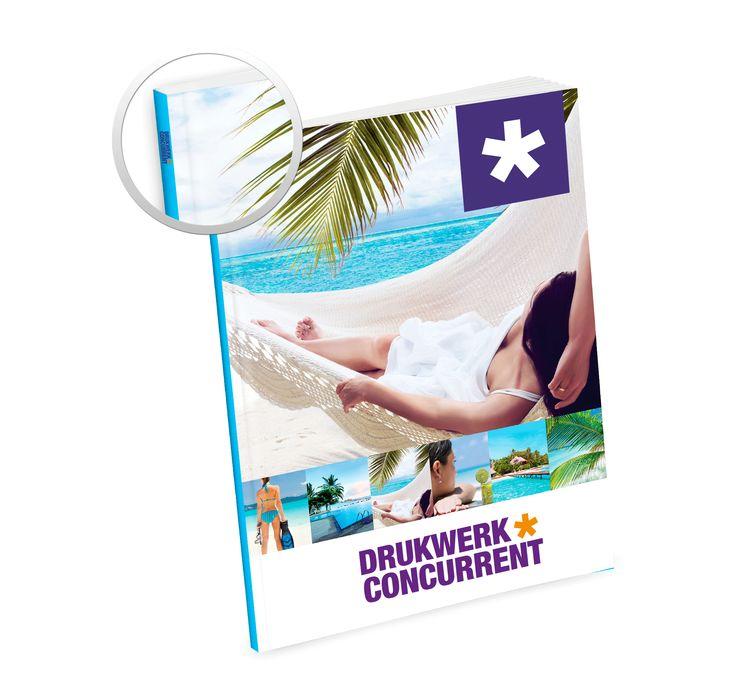 Brochures & magazines - Ideaal als productencatalogus, personeelsblad of bundel met bedrijfsinformatie. Verkrijgbaar in geniete, gelijmde of met wire - o afwerking.