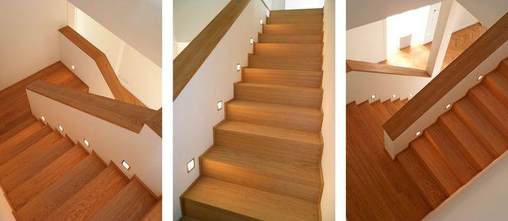 Treppe: Faltwerktreppe auf Betonlauf von Bender & ROTH