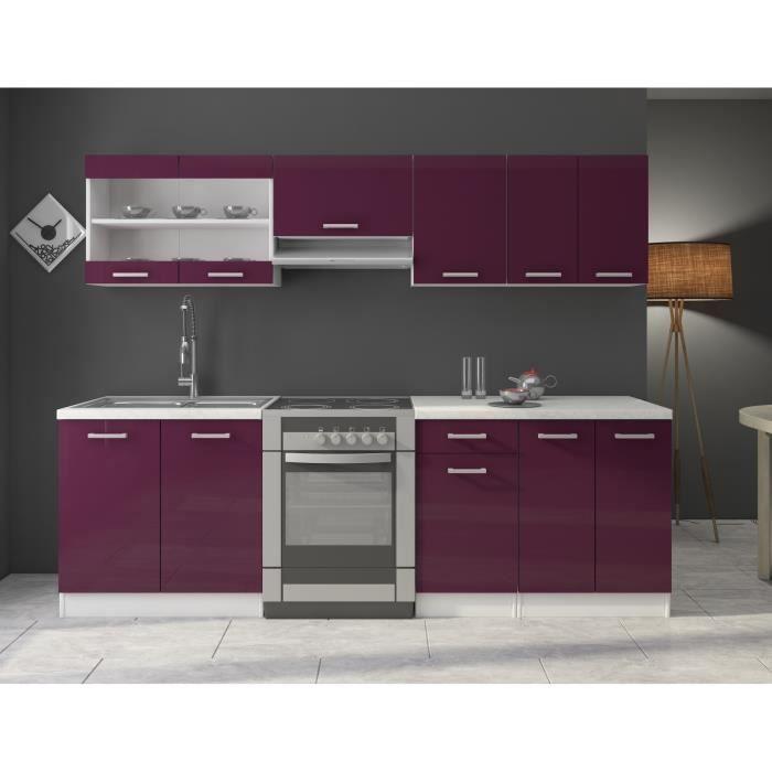 Soldes meubles cdiscount jasny cuisine compl te 240 - Soldes meubles cuisine ...