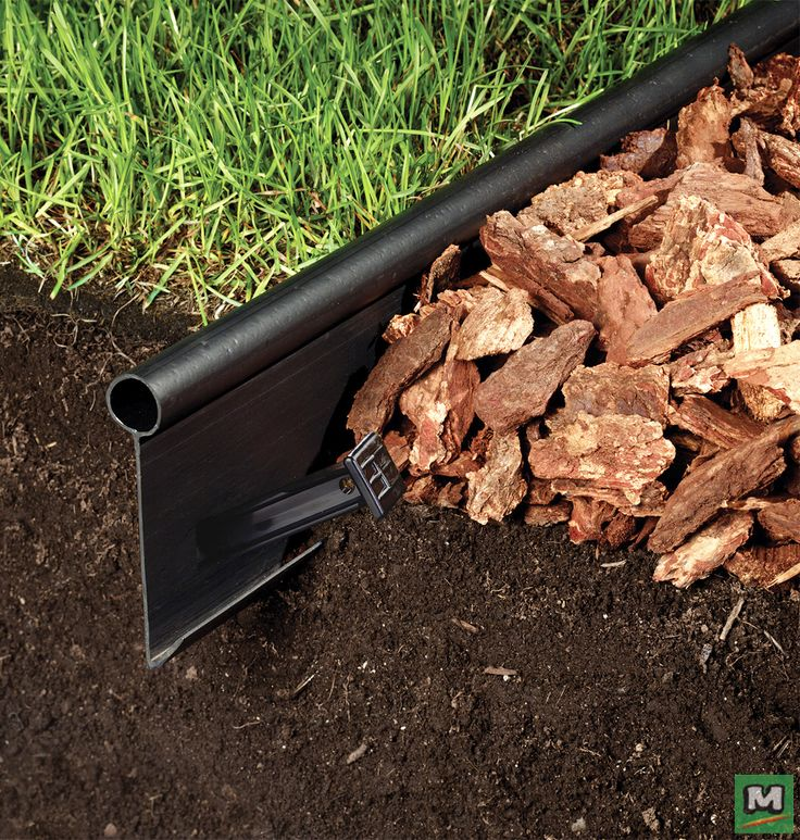 Add strength and flexibility to your landscape project with Yardworks® Flexedge Landscape Strips. Made from 100% post-consumer recycled plastic, this edging is easy to install and provides years of solid retaining power.