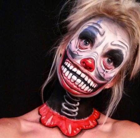 49 best clown images on Pinterest | Halloween ideas, Creepy clown ...