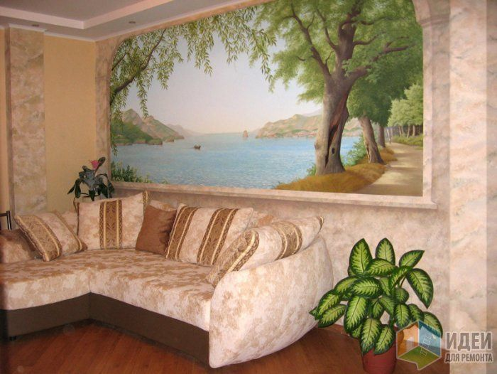 74 best trompe l 39 oeil 3d murals images on pinterest. Black Bedroom Furniture Sets. Home Design Ideas