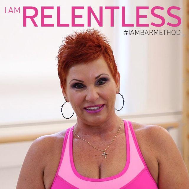 """I am relentless and committed. I am Bar Method."" -Tanya #IAMBARMETHOD"