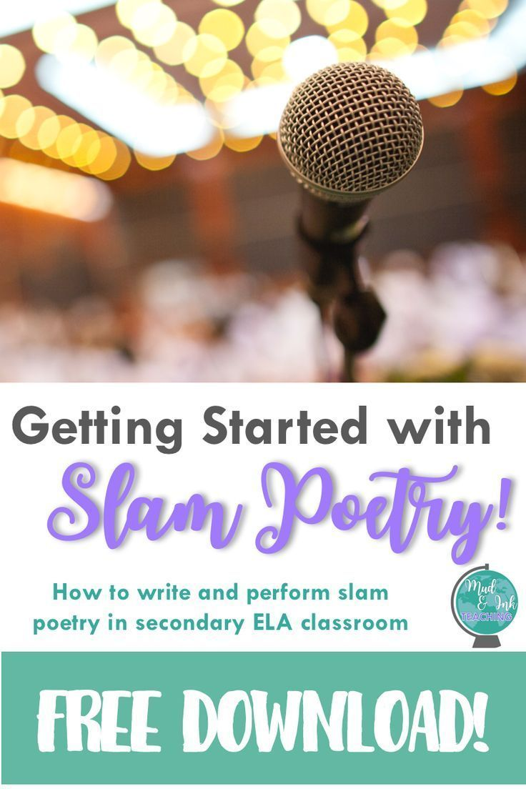 Slam Poetry 101: An Introduction